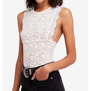 Free People Tops - NWT Free People lace tank